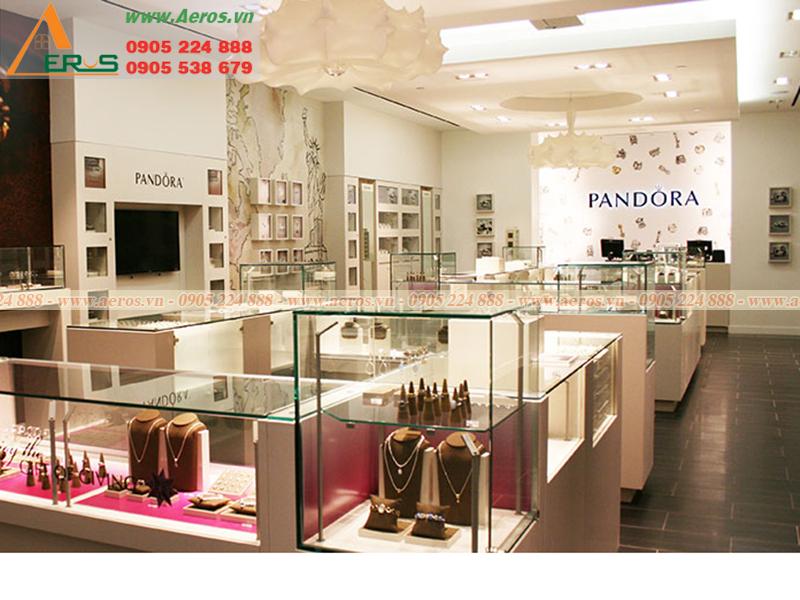 Thiết kế cửa hàng trang sức đẹp hiện đại và đẳng cấp