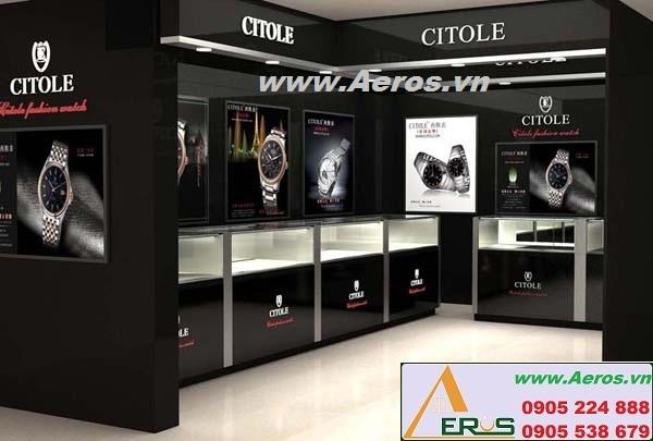 Thiết kế cửa hàng đồng hồ đẹp và hiệu quả