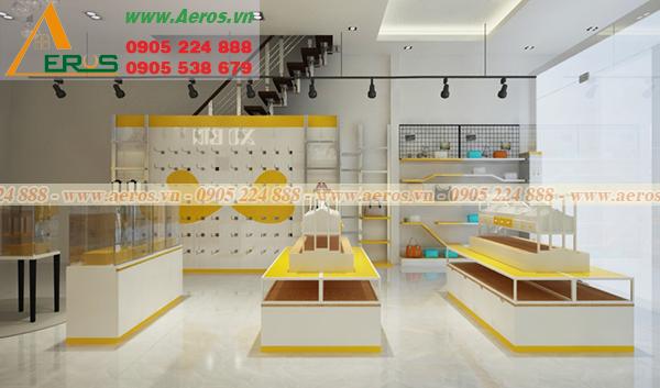 Hình ảnh mẫu thiết kế shop mỹ phẩm chị Hiêu tại Long An