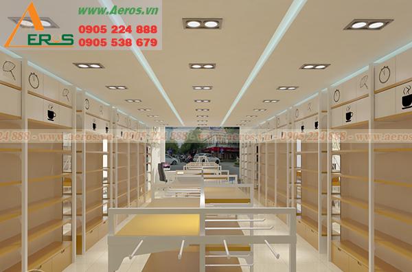 Hình ảnh mẫu thiết kế shop mỹ chị Tâm tại quận Gò Vấp, TPHCM