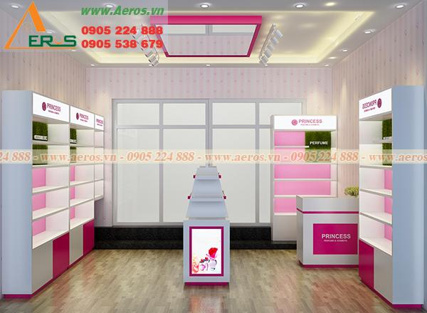 Mẫu thiết kế shop mỹ phẩm anh Qúy tại Bình Dương