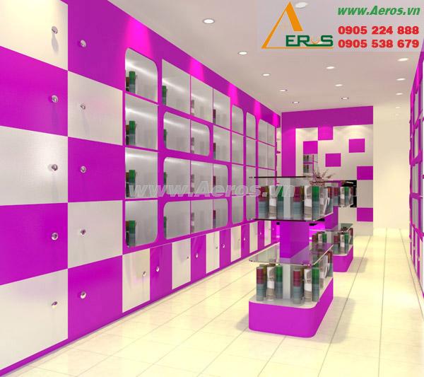 thiết kế shop mỹ phẩm anh Sang
