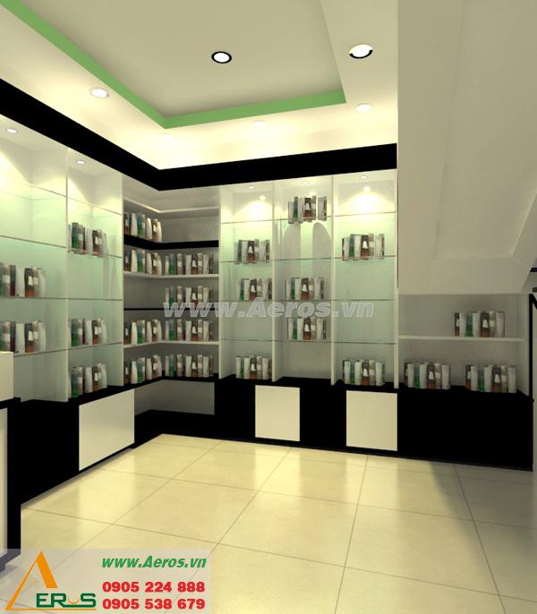 Thiết kế shop mỹ phẩm chị Hiền tại TP.HCM