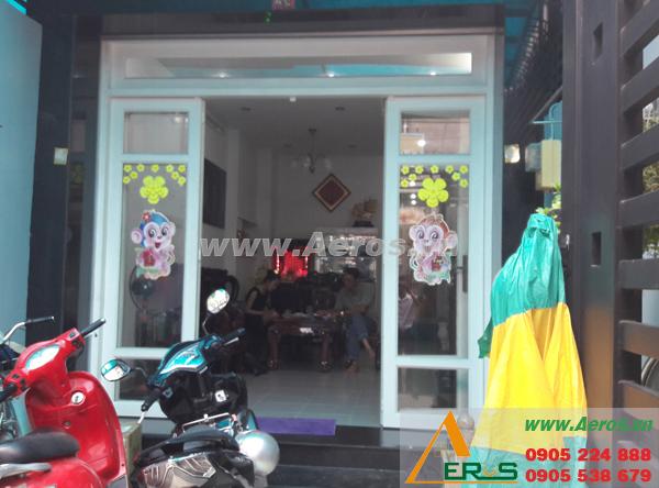 Hiện trạng mặt bằng shop mỹ phẩm chị Lan tại quận 8