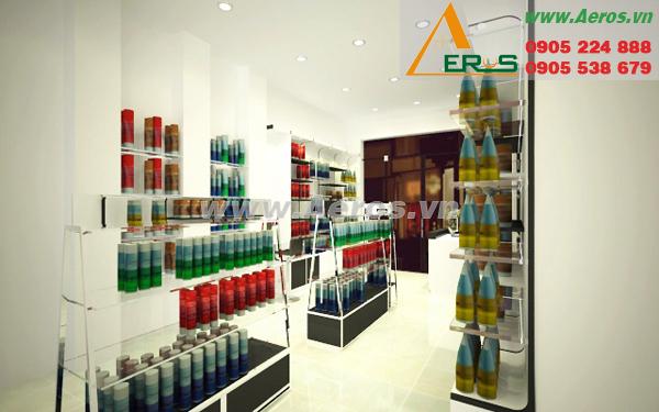 Thiết kế shop mỹ phẩm chị Lan tại quận 8