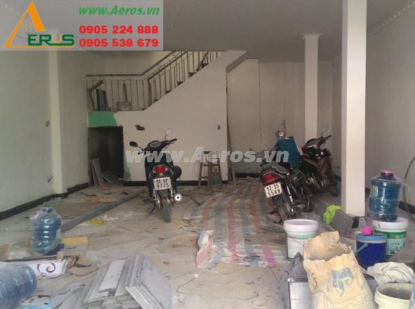 Hiện trạng mặt bằng shop Quỳnh Bông