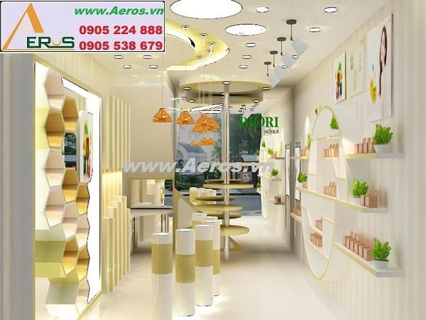 Thiết kế shop mỹ phẩm Roiri tại quận 10