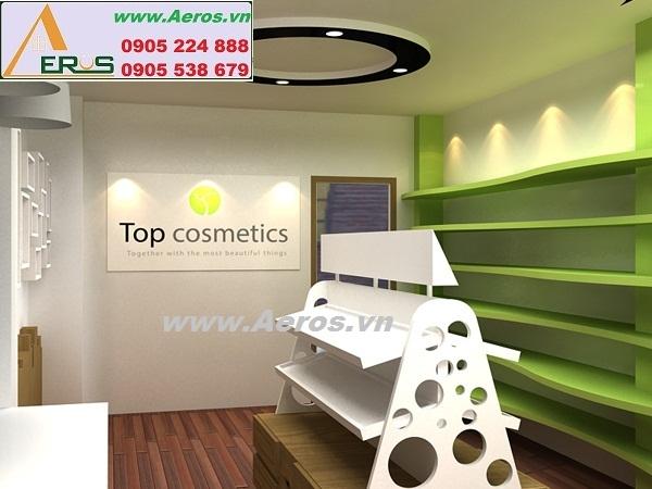 Thiết kế shop mỹ phẩm Top Cosmetics tại quận 4