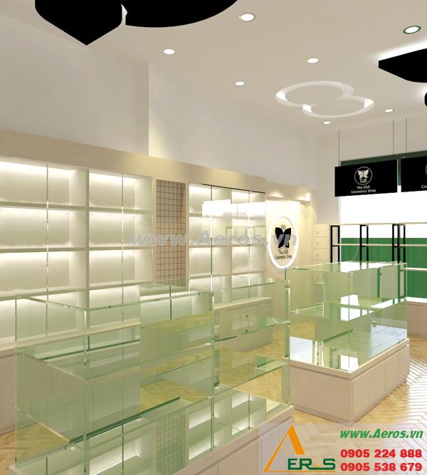 Thiết kế shop mỹ phẩm anh Khoa tại Phú Nhuận