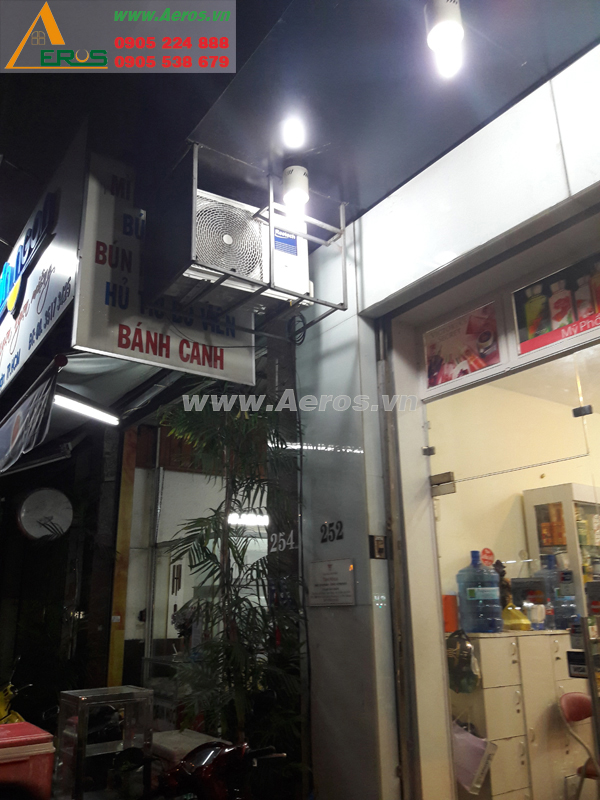 Hiện trạng mặt bằng shop mỹ phẩm anh Khoa tại Phú Nhuận