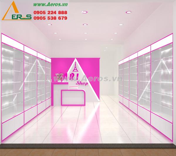 Thiết kế shop mỹ phẩm anh Sáu quận 12