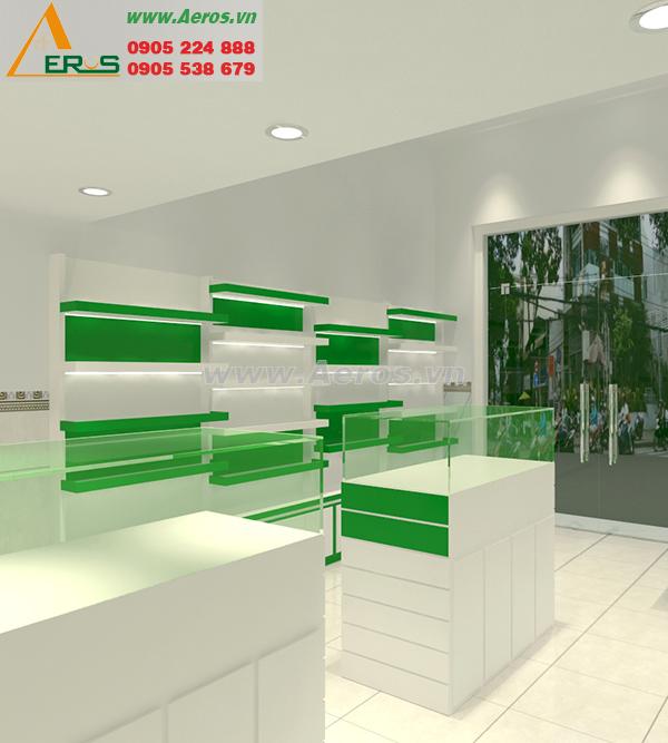 Thiết kế shop mỹ phẩm của chị Anh tại Bình Tân