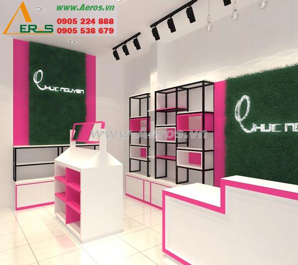 Thiết kế shop mỹ phẩm Chuc Nguyen