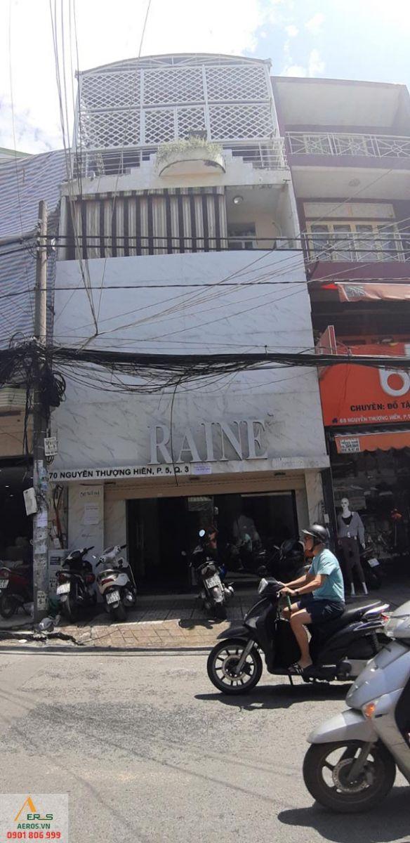 Thiết kế thi công nội thất shop mỹ phẩm của chị Thảo tại quận 3, TP.HCM