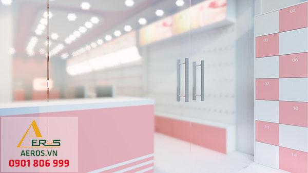 Thiết kế thi công nội thất shop mỹ phẩm của chị Hương tại quận Bình Tân, TP.HCM