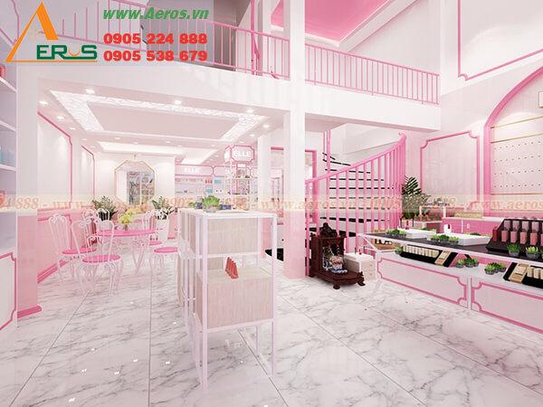 Thiết kế shop mỹ phẩm Elle tại Thủ Đức