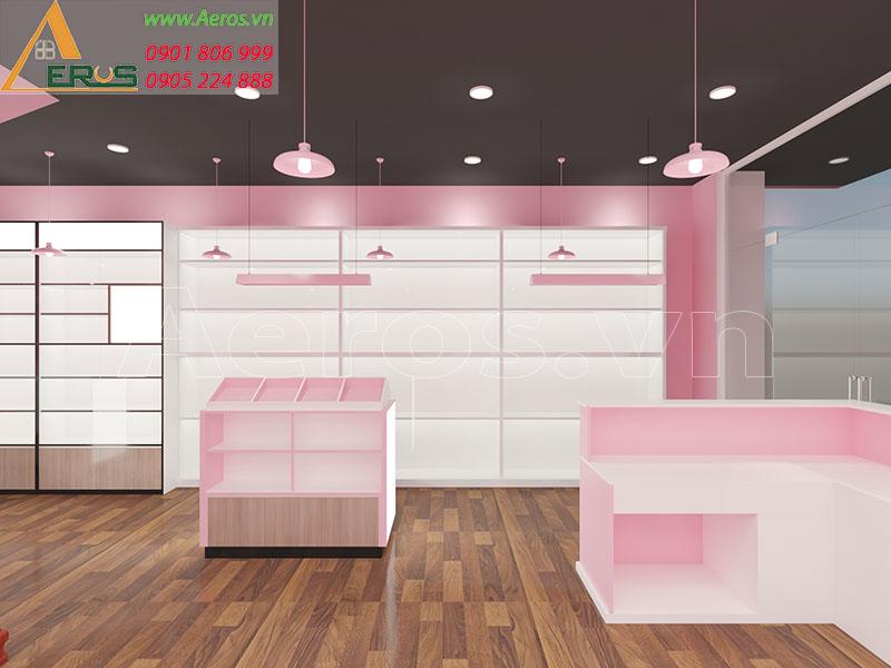 Thiết kế shop mỹ phẩm chị Thanh quận 5