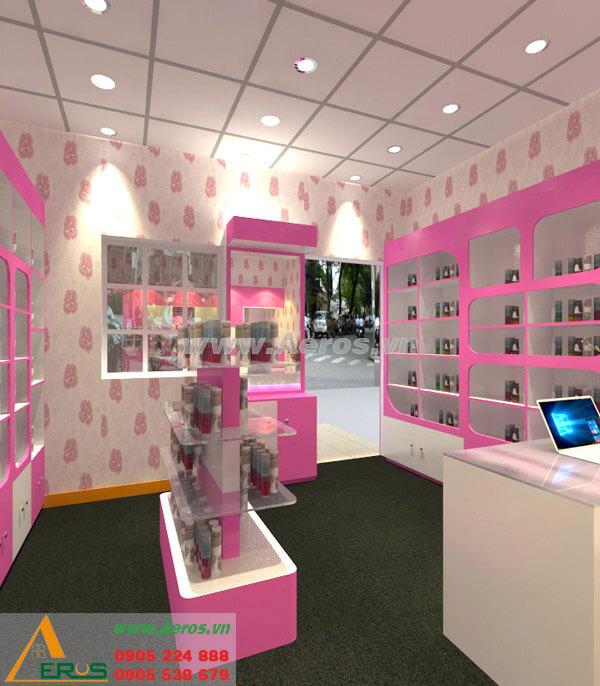 Thiết kế shop mỹ phẩm Thanh Thanh tại quận 3