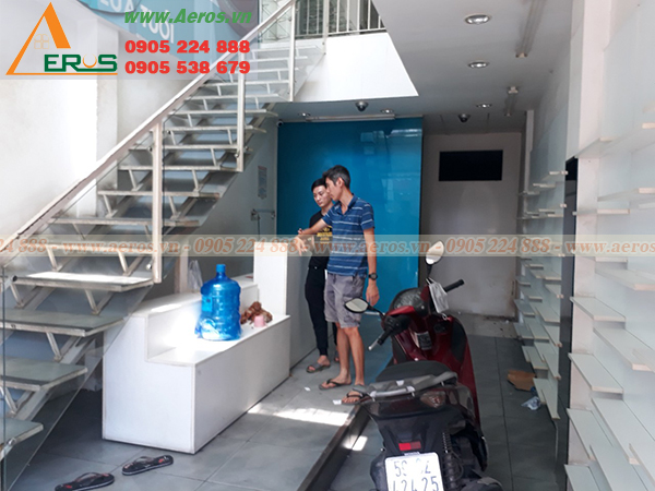 Hiện trạng shop mỹ phẩm anh Long  tại  Số 36 Nguyễn Trãi, P.3, Q.5, tp.HCM