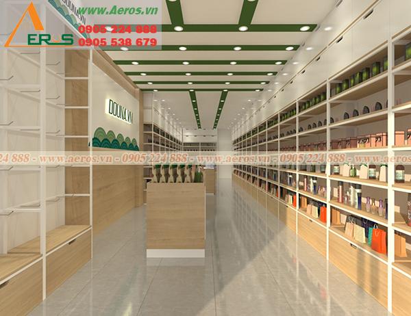 hình ảnh thiết kế shop mỹ phẩm anh long tại quận 5