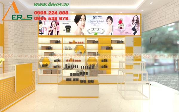 Hình ảnh thiết kế shop mỹ phẩm anh Tài ở quận 3, TPHCM