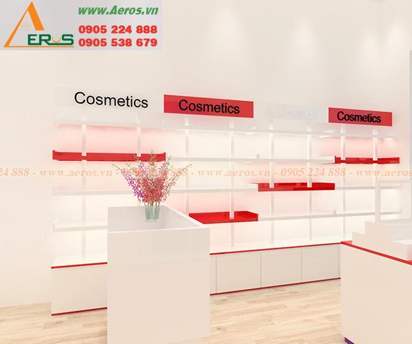 Hình ảnh thiết kế shop mỹ phẩm chị Thuận tại quận Bình Thạnh, TPHCM