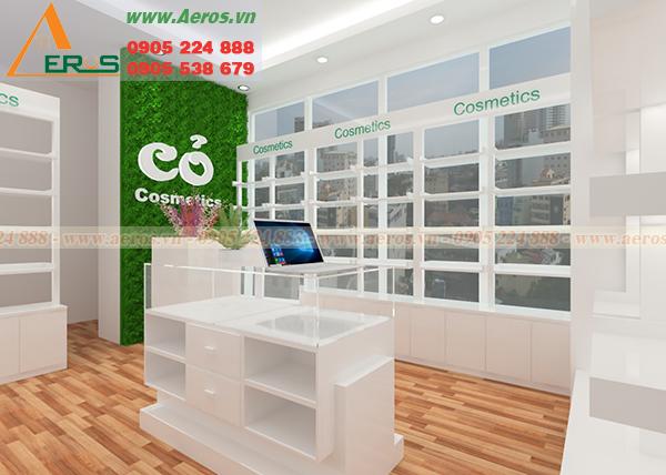Hình ảnh thiết kế shop mỹ phẩm cỏ tại quận 1, TP HCM