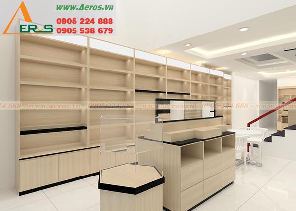 Hình ảnh thiết kế shop mỹ phẩm NaNa tại quận Thủ Đức, TPHCM