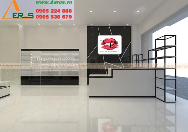 Hình ảnh thiết kế bảng hiệu shop mỹ phẩm TIPU tại quận Bình Tân, TPHCM