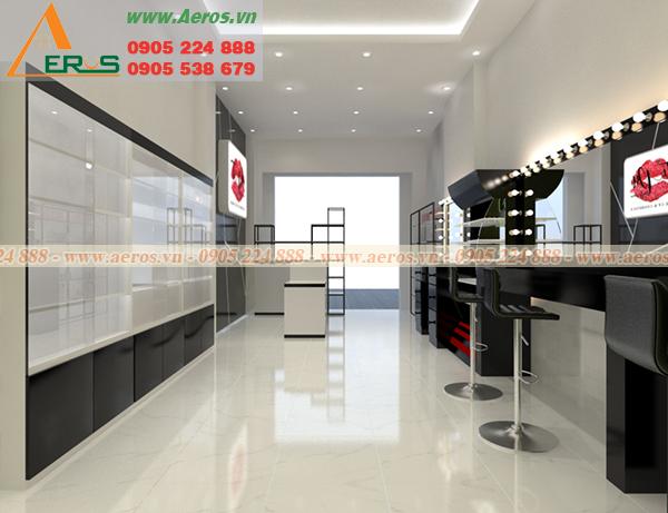 Hình ảnh thiết kế thi công nội thất shop mỹ phẩm TIPU tại quận Bình Tân, TPHCM Hình ảnh thiết kế nội thất shop mỹ phẩm TIPU tại quận Bình Tân, TPHCM