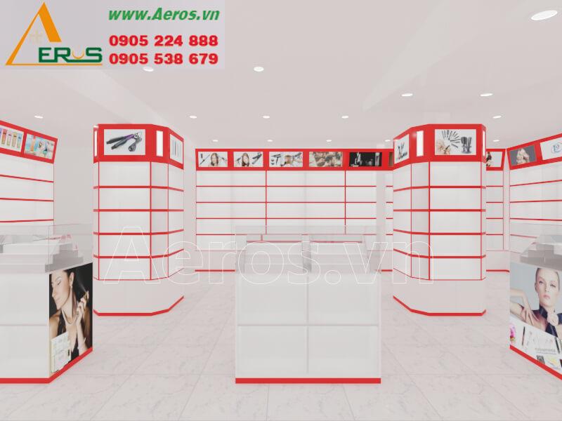 Hình ảnh Aeros thiết kế nội thất shop mỹ phẩm anh Ẩn ở quận 1, TPHCM