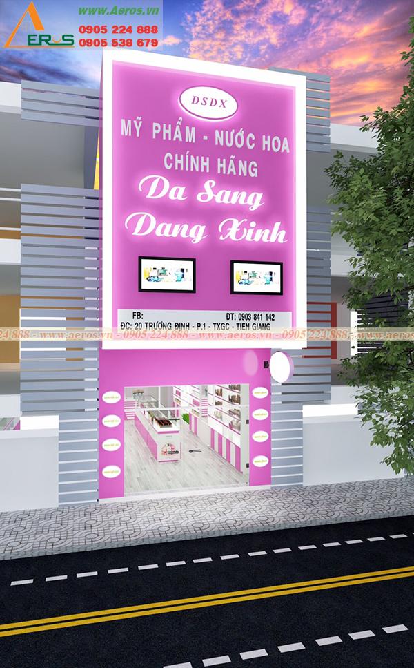 Hình ảnh thiết kế shop mỹ phẩm anh thuận tại Tiền Giang