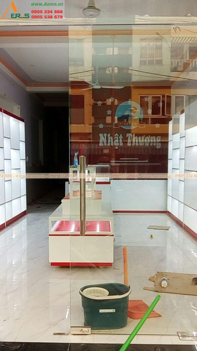 Hình ảnh thi công shop mỹ phẩm anh Tuấn tại Bình Dương.