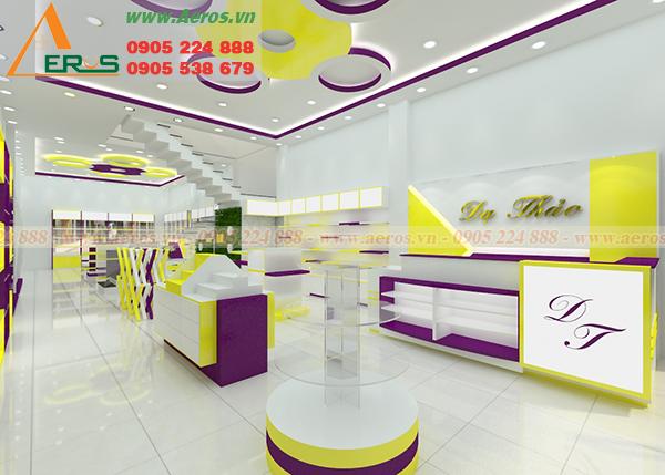 hình ảnh thiết kế shop mỹ phẩm Dạ Thảo tại Đồng Tháp
