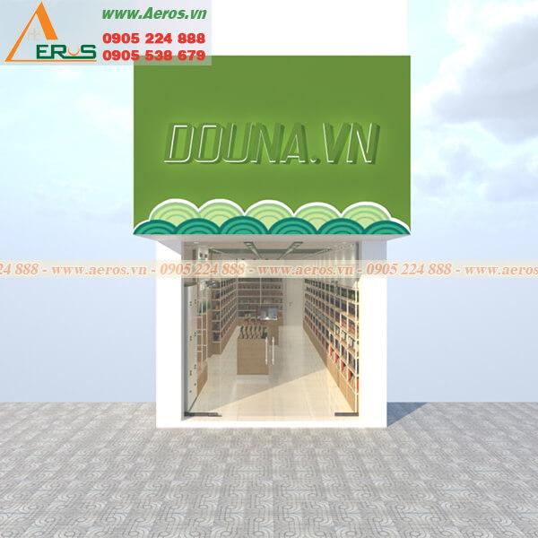 Thiết kế thi công shop mỹ phẩm Dauna tại quận 5