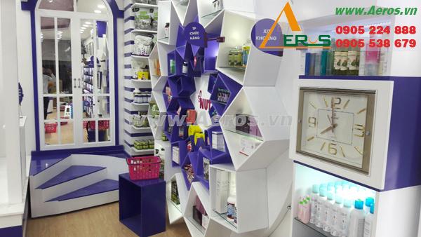 thiết kế shop mỹ phẩm Nuty quận 10 của anh Thắng