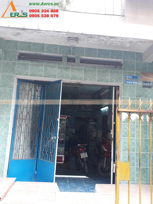 Hiện trạng shop mỹ phẩm Thiên Bảo tại quận 11, TP HCM