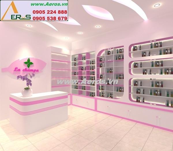Hình ảnh thiết kế shop mỹ phẩm đẹp trong tháng 3