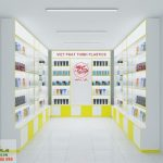 Thiết kế shop mỹ phẩm Việt Phát Thịnh Plastics của chị Ngọc tại Bình Dương