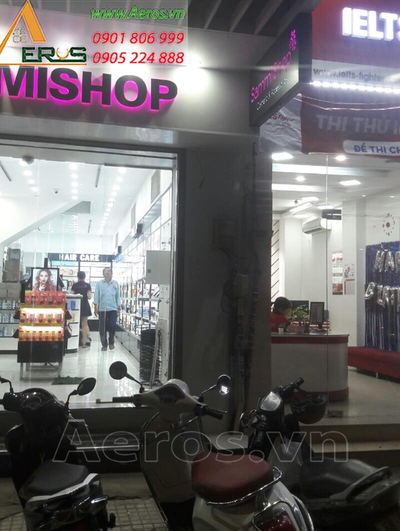Thi công shop mỹ phẩm SAMMI
