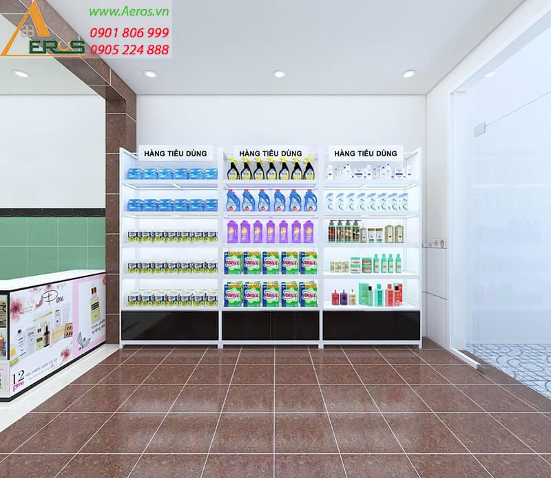Thiết kế shop mỹ phẩm Duyên
