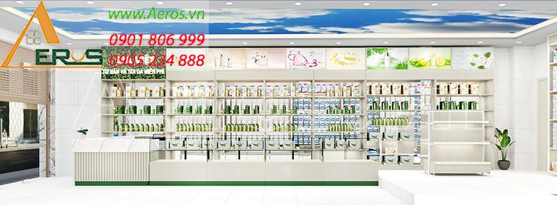 Thiết kế shop mỹ phẩm Gia Việt