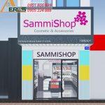 Thiết kế shop mỹ phẩm SAMMI