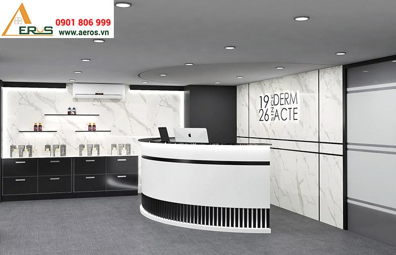 thiết kế shop mỹ phẩm Academie