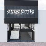 thiết kế shop mỹ phẩm Academie Phú Nhuận
