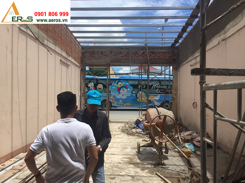 Hiện trạng showroom mỹ phẩm Dũng Đào tại Tiền Giang