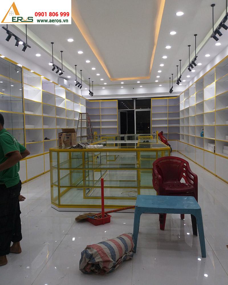 Thi công showroom mỹ phẩm Dũng Đào tại Tiền Giang