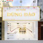 Thiết kế thi công shop mỹ phẩm Dũng Đào tại Tiền Giang