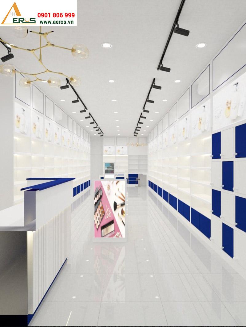 Thiết kế showroom mỹ phẩm Từ Hảo tại Quận 3