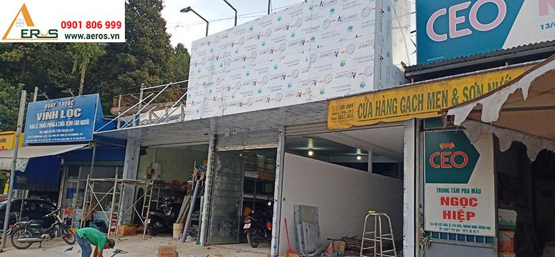 Thi công shop mỹ phẩm Thư Đình tại Đồng Nai